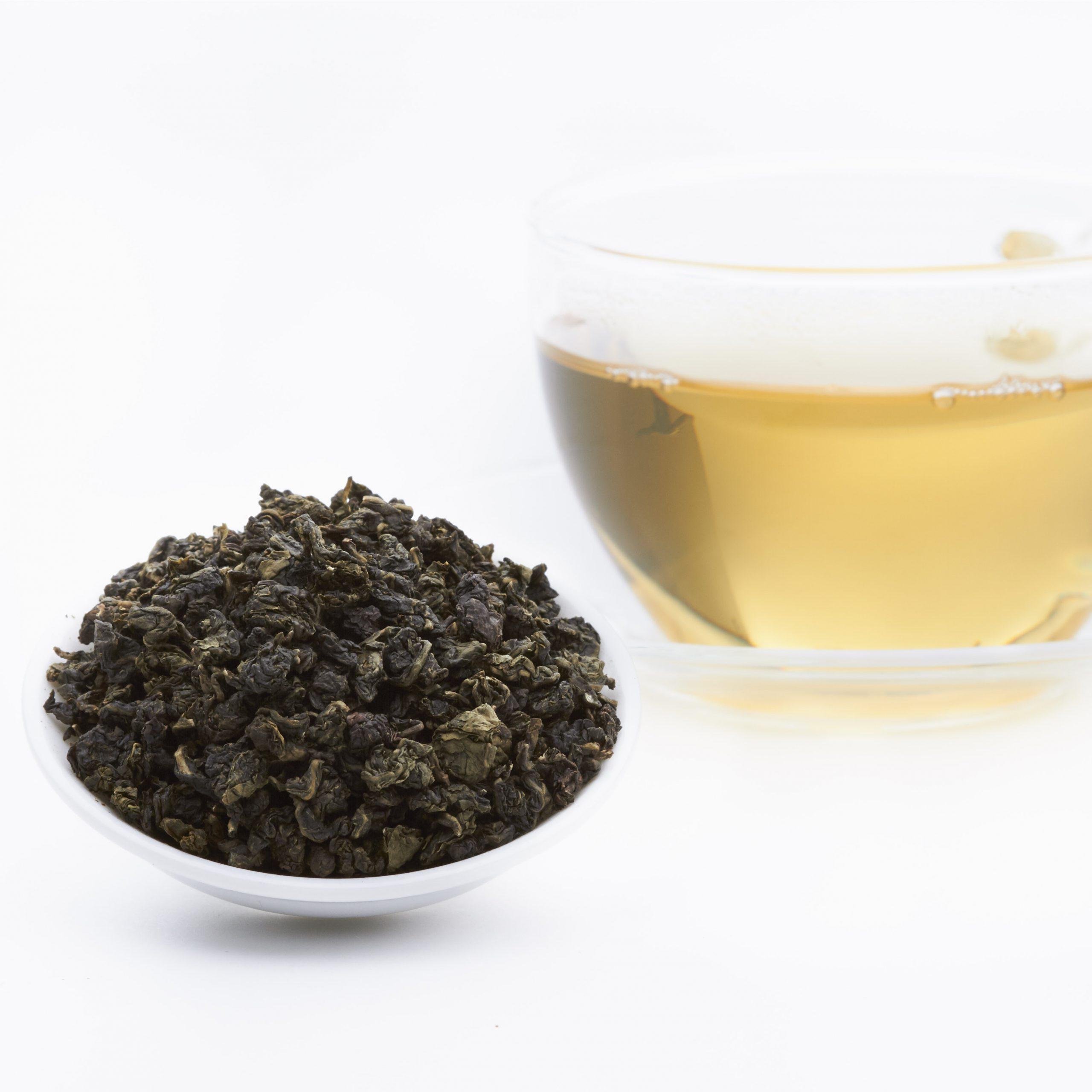 Oolong te varierer veldig i farge